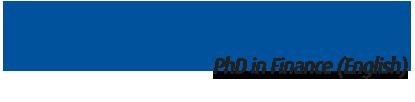 Finance PhD Program (In English)